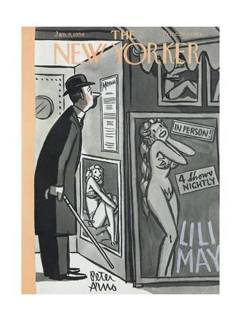 The New Yorker Cover - January 9, 1954