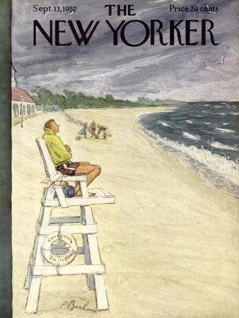 The New Yorker Cover - September 13, 1952