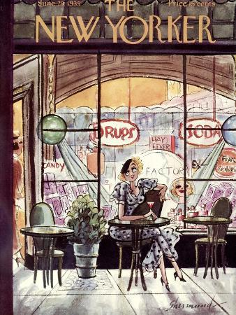 The New Yorker Cover - June 29, 1935
