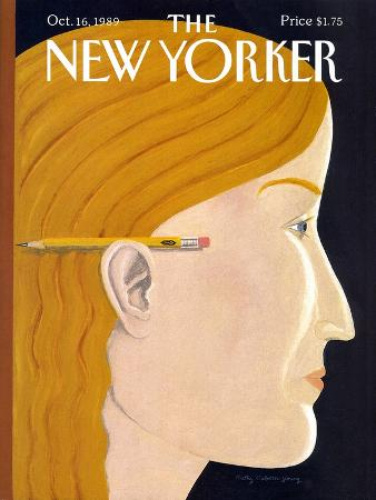 The New Yorker Cover - October 16, 1989