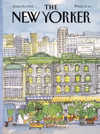 The New Yorker Cover - June 25, 1984
