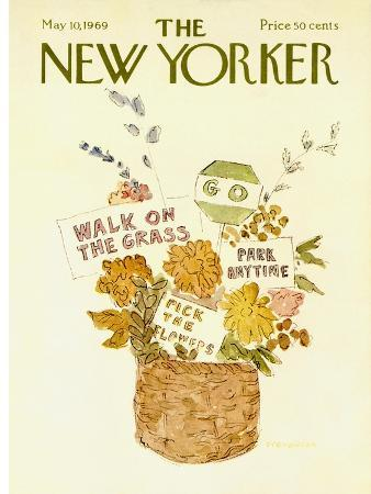 The New Yorker Cover - May 10, 1969
