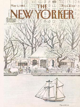 The New Yorker Cover - May 2, 1983
