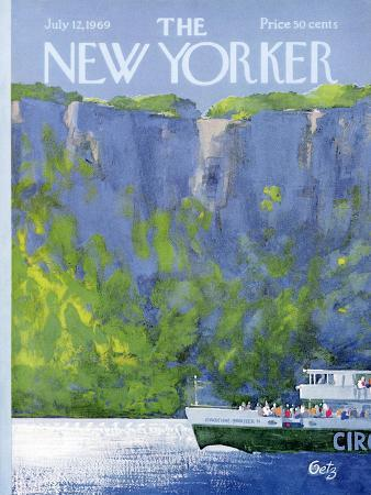 The New Yorker Cover - July 12, 1969