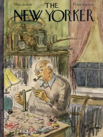 The New Yorker Cover - March 13, 1948