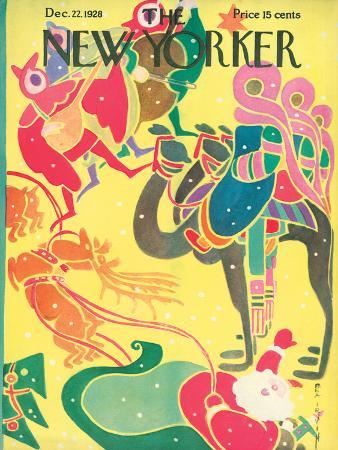 The New Yorker Cover - December 22, 1928