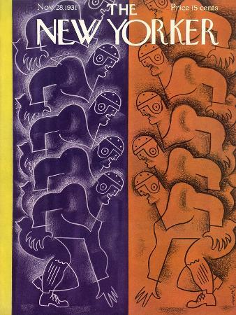 The New Yorker Cover - November 28, 1931