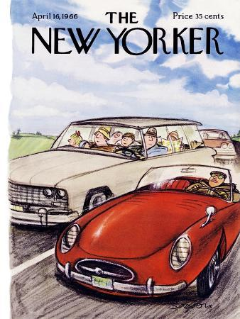 The New Yorker Cover - April 16, 1966