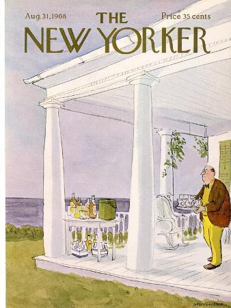 The New Yorker Cover - August 31, 1968