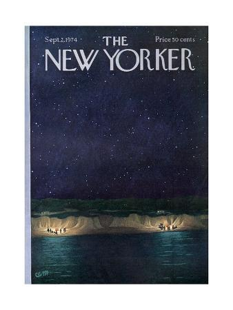The New Yorker Cover - September 2, 1974