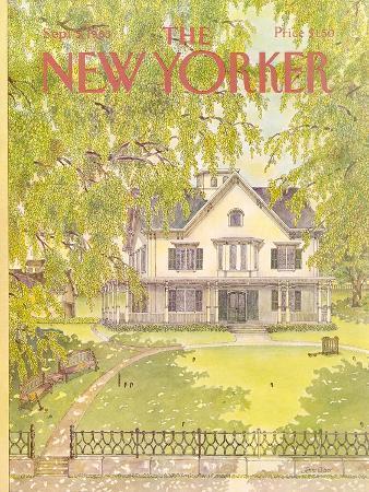 The New Yorker Cover - September 5, 1983