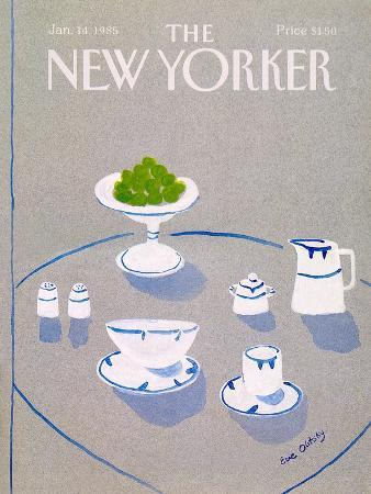 The New Yorker Cover - January 14, 1985