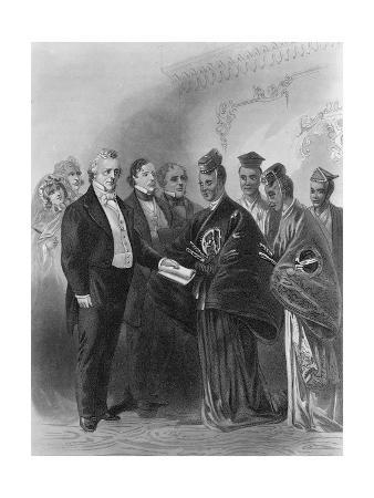 President James Buchanan and the Japanese Embassy