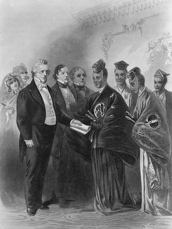 President James Buchanan and the Japanese Embassy