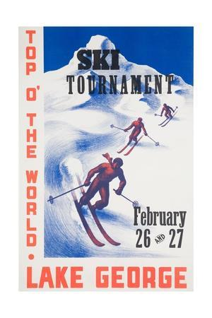 Ski Tournament Lake George