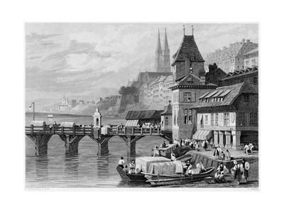 A River Scene at Basel