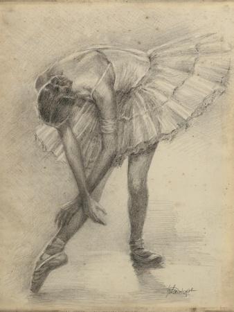 Antique Ballerina Study II