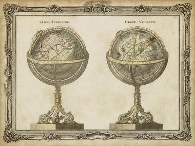 Terrestrial and Celestial Globes