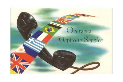 Overseas Telephone Service, Flags