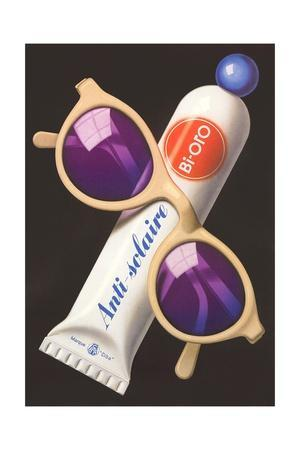 French Advertisement for Sunscreen