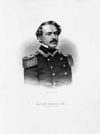 Maj. Gen. Robert E. Lee Engraving