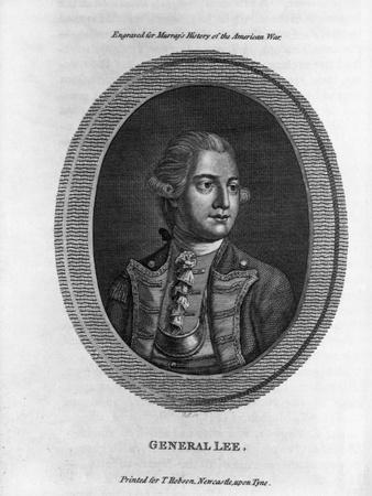 Portrait of General Charles Lee