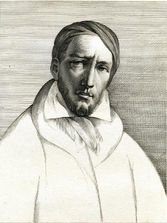 Engraving of Theodore Gericault