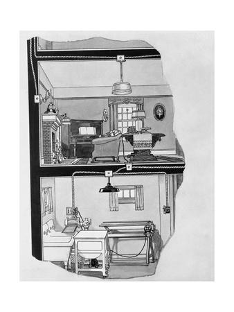 Illustration for Home of a Hundred Comforts Booklet