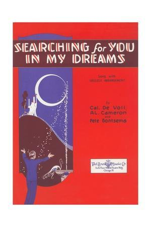 Sheet Music for Searching for You in My Dreams