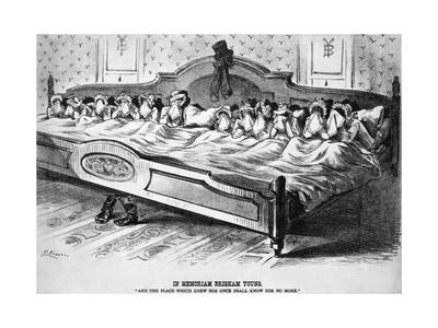 Wives Mourning Brigham Young