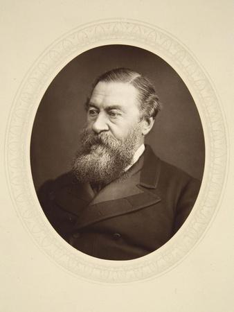 Portrait of Sir Samuel Baker
