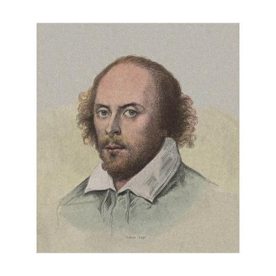 Portrait of Young William Shakespeare