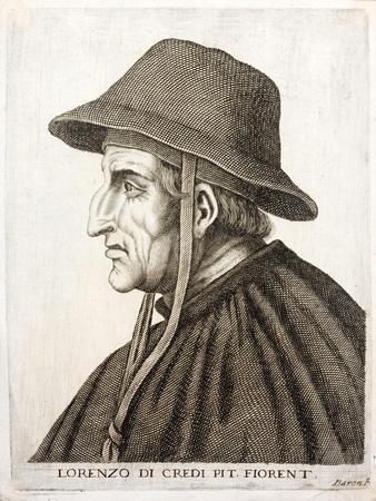 Profile Portrait of Lorenzo De Credi