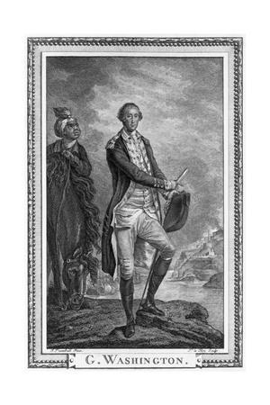 Portrait of George Washigton