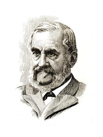 Czech Politician Frantisek Ladislav Rieger