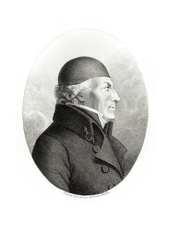 Portrait of Johan Gottlieb Gahn