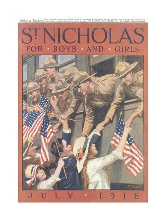 St. Nicholas Magazine Cover