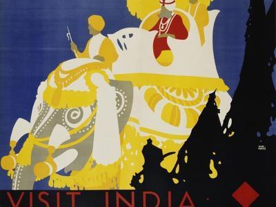 Visit India Poster