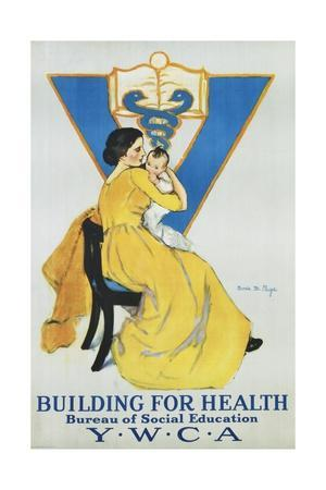 Building for Health, Y.W.C.A. Poster