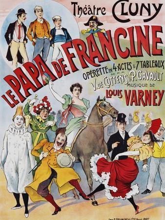 Le Papa De Francine Poster