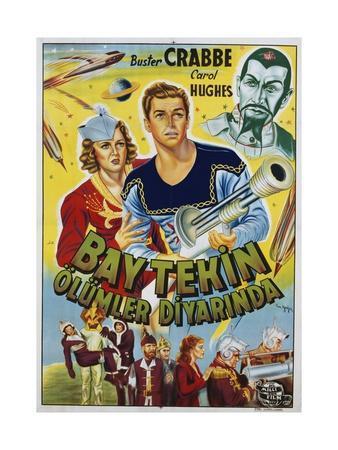 Buck Rogers Turkish Movie Poster
