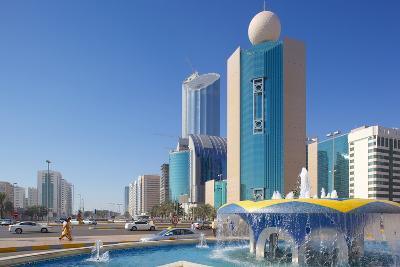 Contemporary Architecture on Rashid Bin Saeed Al Maktoum Street