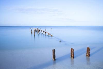 Old Jetty in the Caribbean Sea