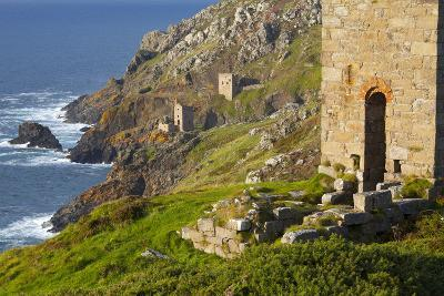 Abandoned Tin Mine Near Botallack