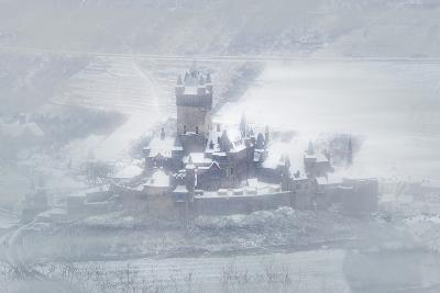 Cochem Castle and the Mosel River in Winter