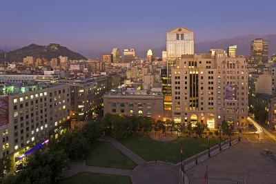 View across the Plaza De La Constitucion