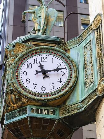 Art Nouveau Ornamentation on Carson Pirie Scott Building
