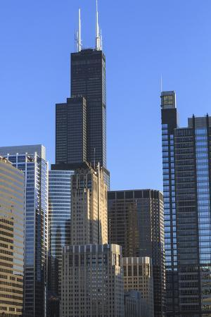 Skyscrapers Including Willis Tower