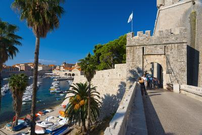 Ploce Gate in Old Town Walls and Harbour