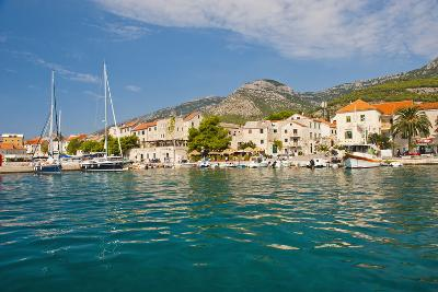 Bol Town and the Crystal Clear Adriatic Sea Off Brac Island